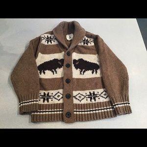 Boy's Lands End Sweater Size m